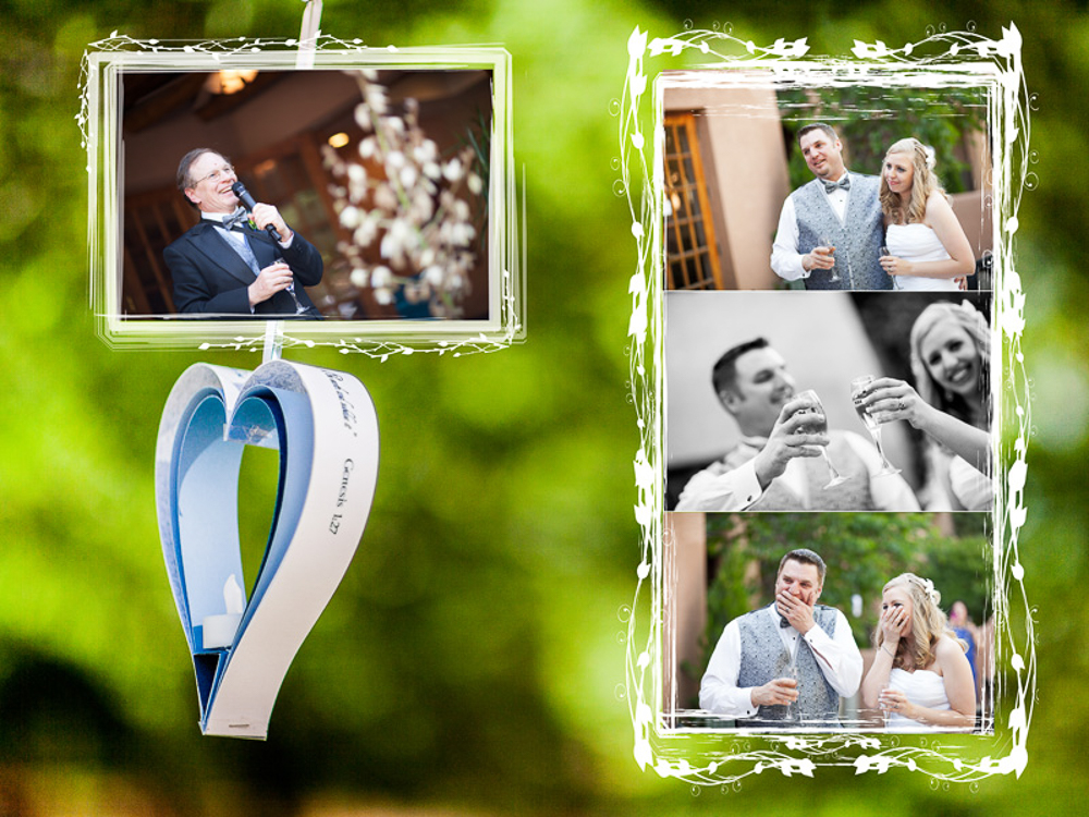 Click to see Brooks & Ginger's Wedding Album Layout