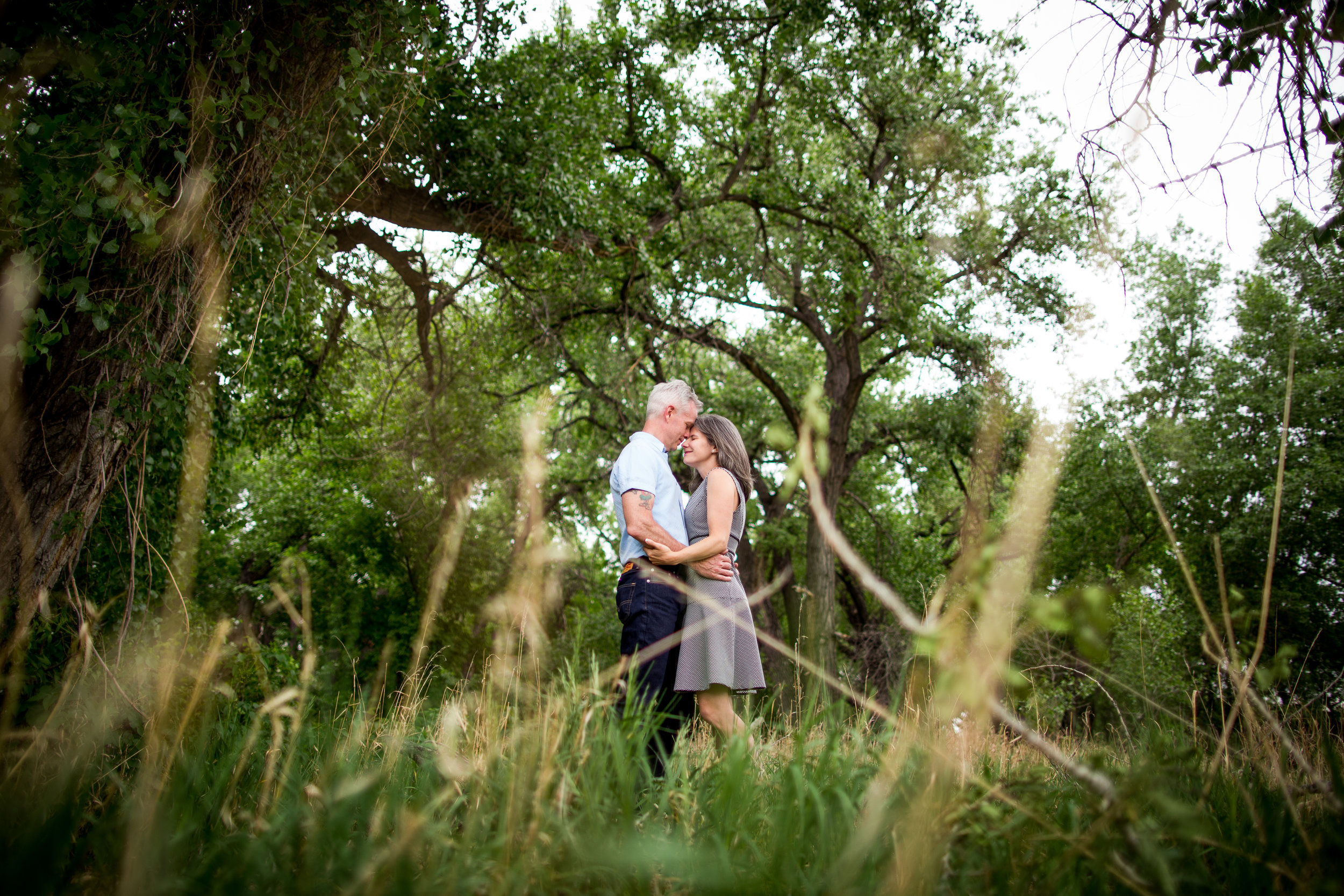 Click to see photos from Dan & Laurel's Engagement Session at Fountain Creek Nature Preserve