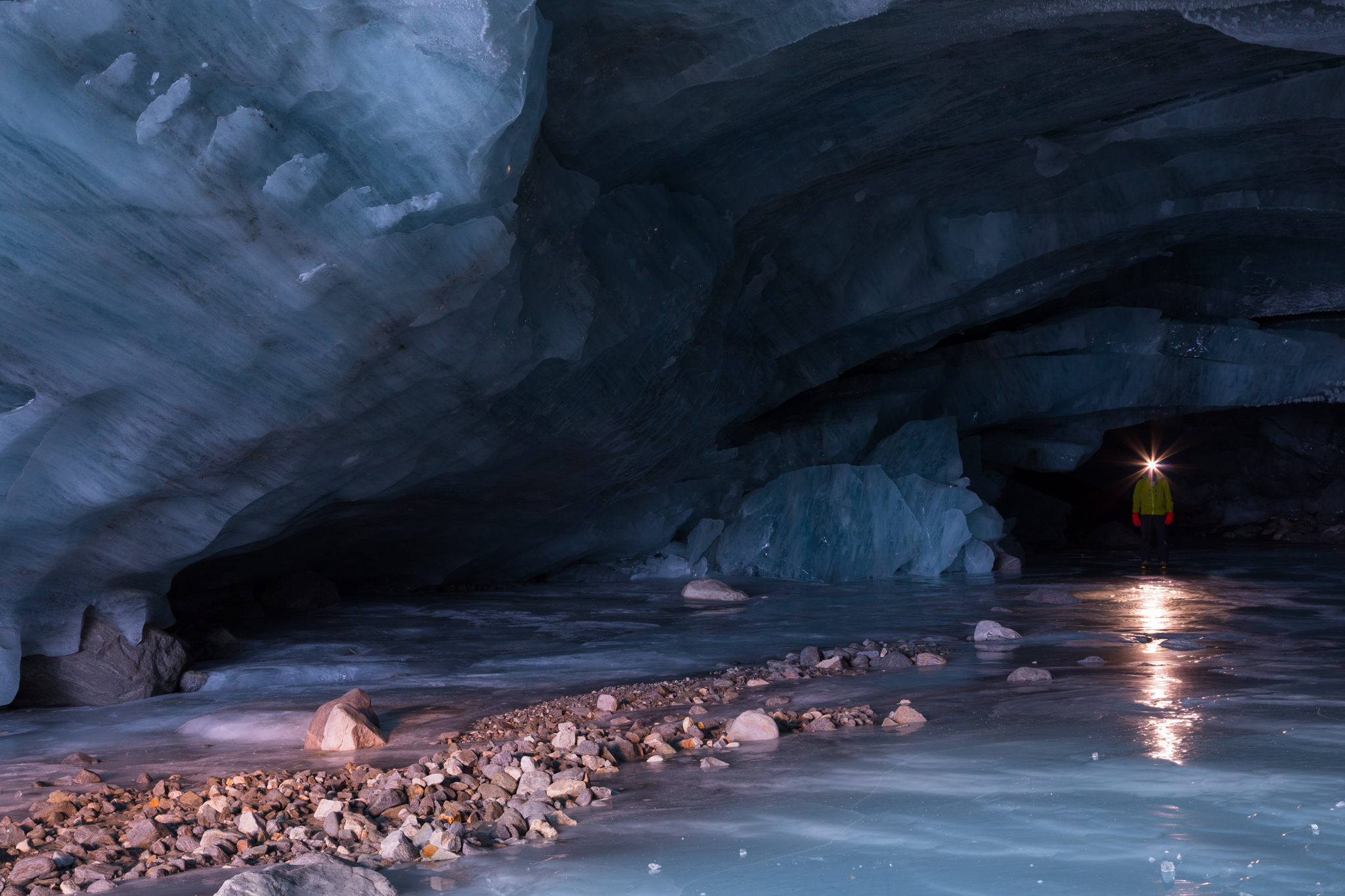 Ice Cave Reflection