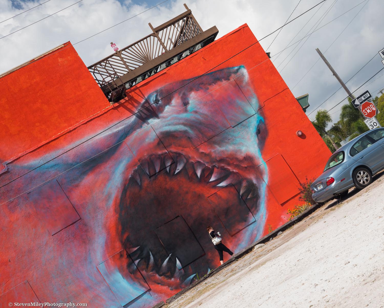 My favorite artwork in the entire world. Eau Gallie Arts District, Melbourne, Florida.