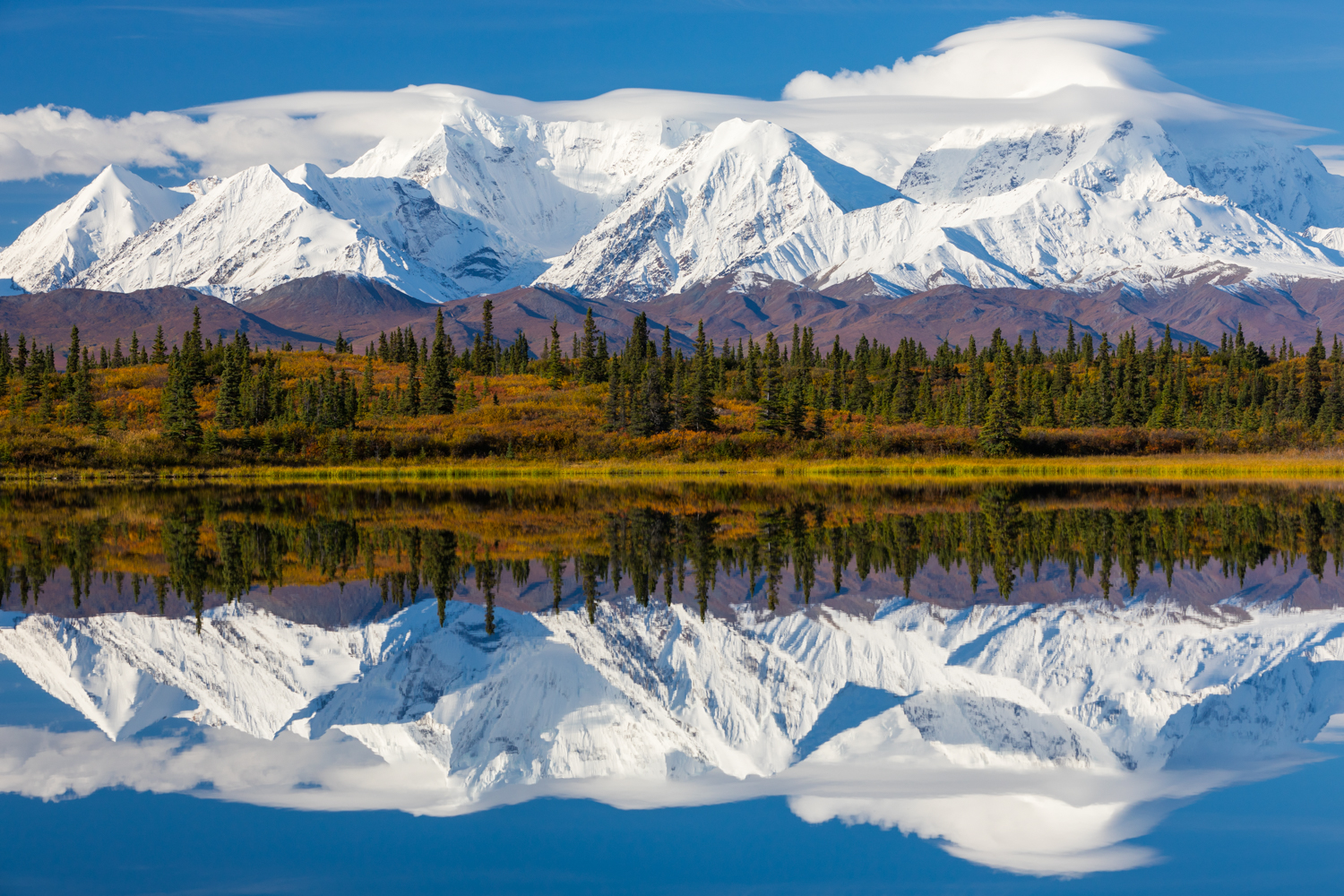 Eastern Alaska Range Reflection