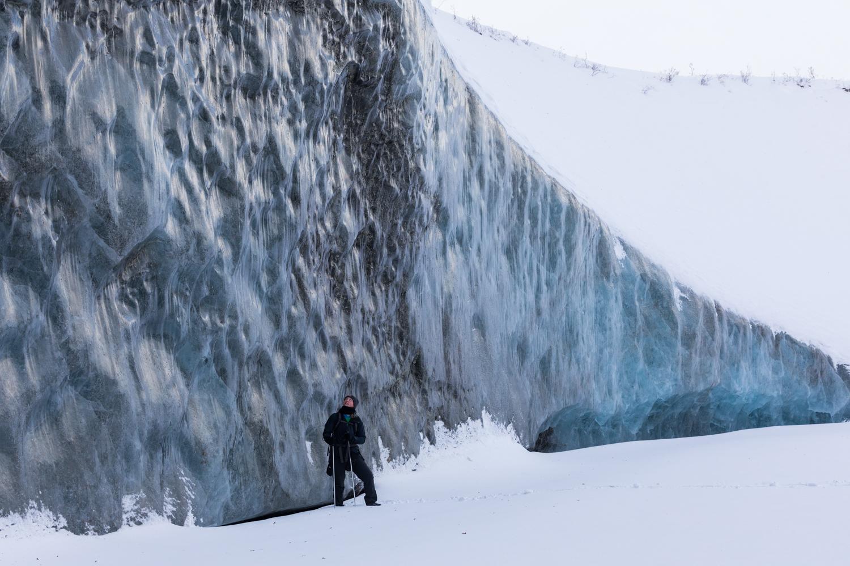Canwell Glacier Ice Wall