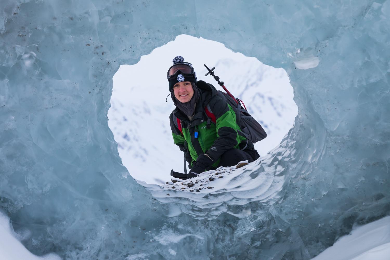 Black Rapids Glacier Portrait