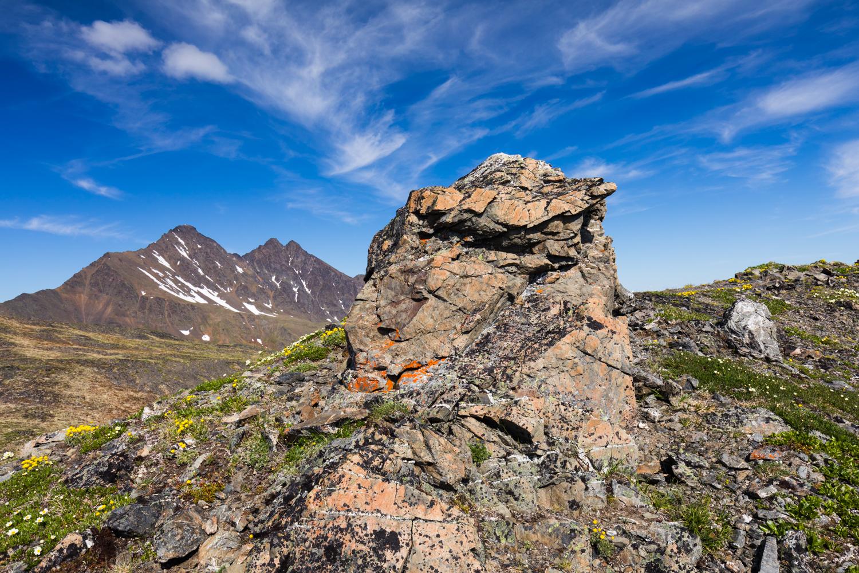 View of Pioneer Peak From Pioneer Peak Trail