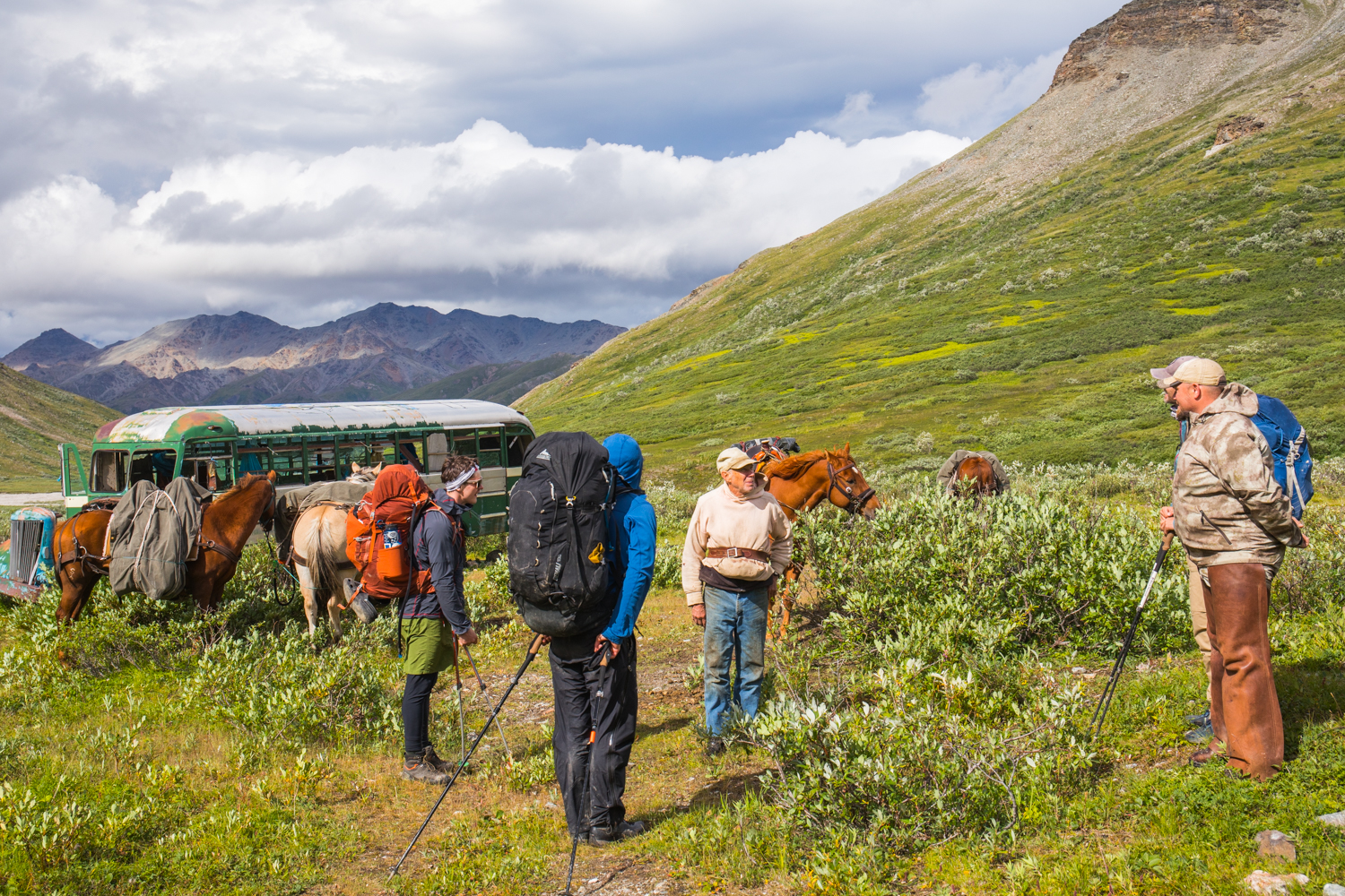 Meeting People In The Backcountry - Healy Creek