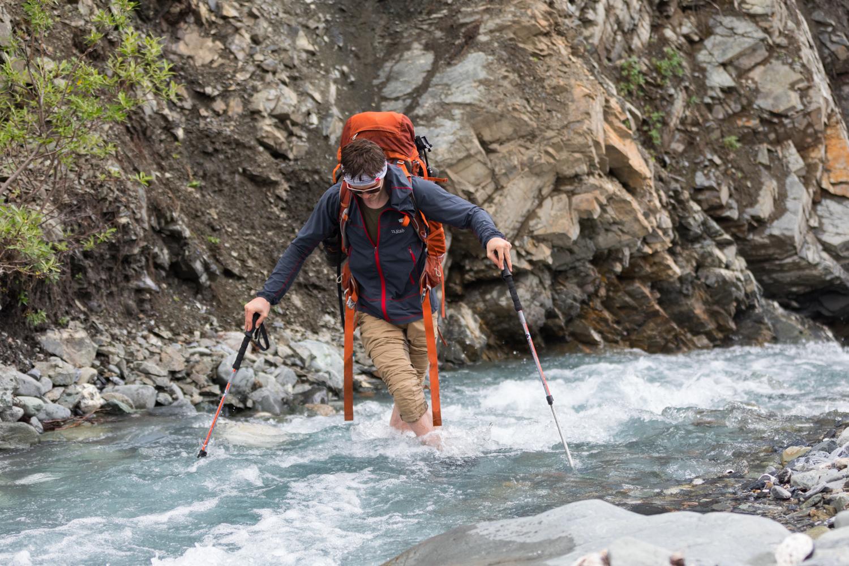 Stream Crossing - Alaska Range
