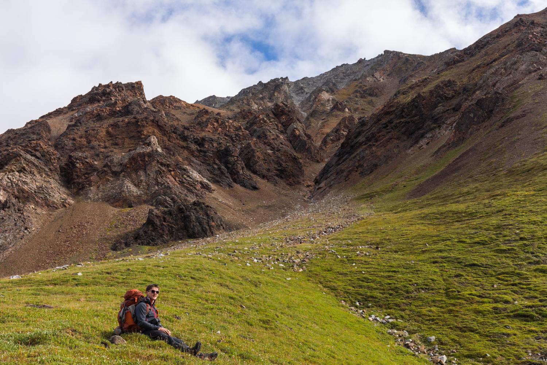Alpine Rest Stop - Alaska Range