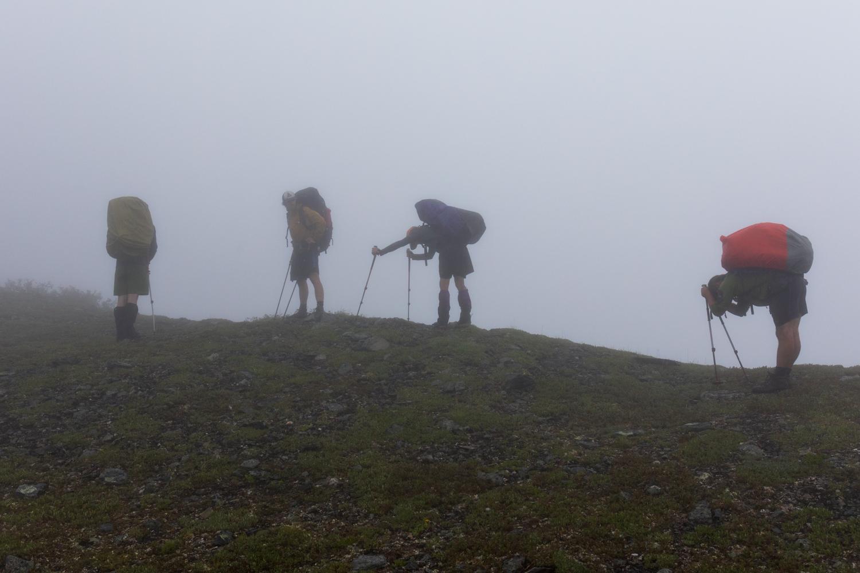 Resting In The Fog - Alaska Range