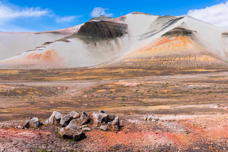 Baked Mountain & Valley Of 10,000 Smokes - Katmai NP