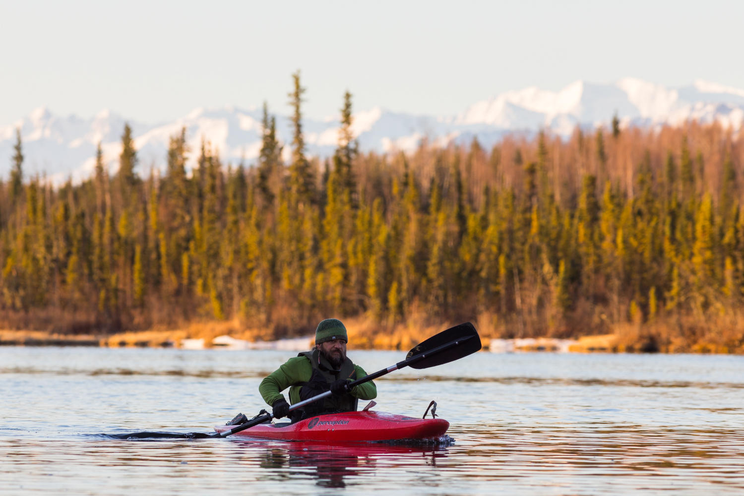 Early Morning Kayaking - Clearwater River