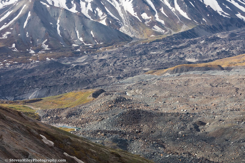 View of McGinnis Glacier.