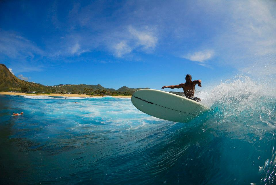 Russ Ramos HLI Team Rider got the day off to sample some home zones pic:D.akana