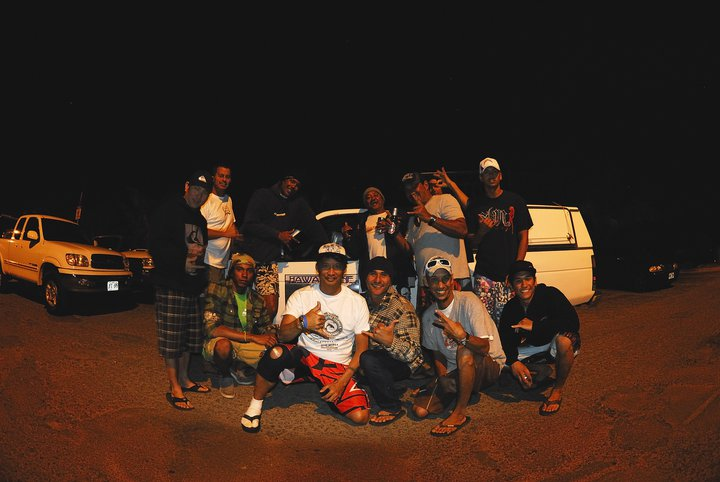 The Boyz HLI RIP Braddah much Love!!