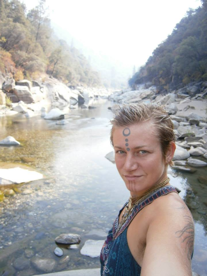 Ala Amrita at the Yuba River 2013