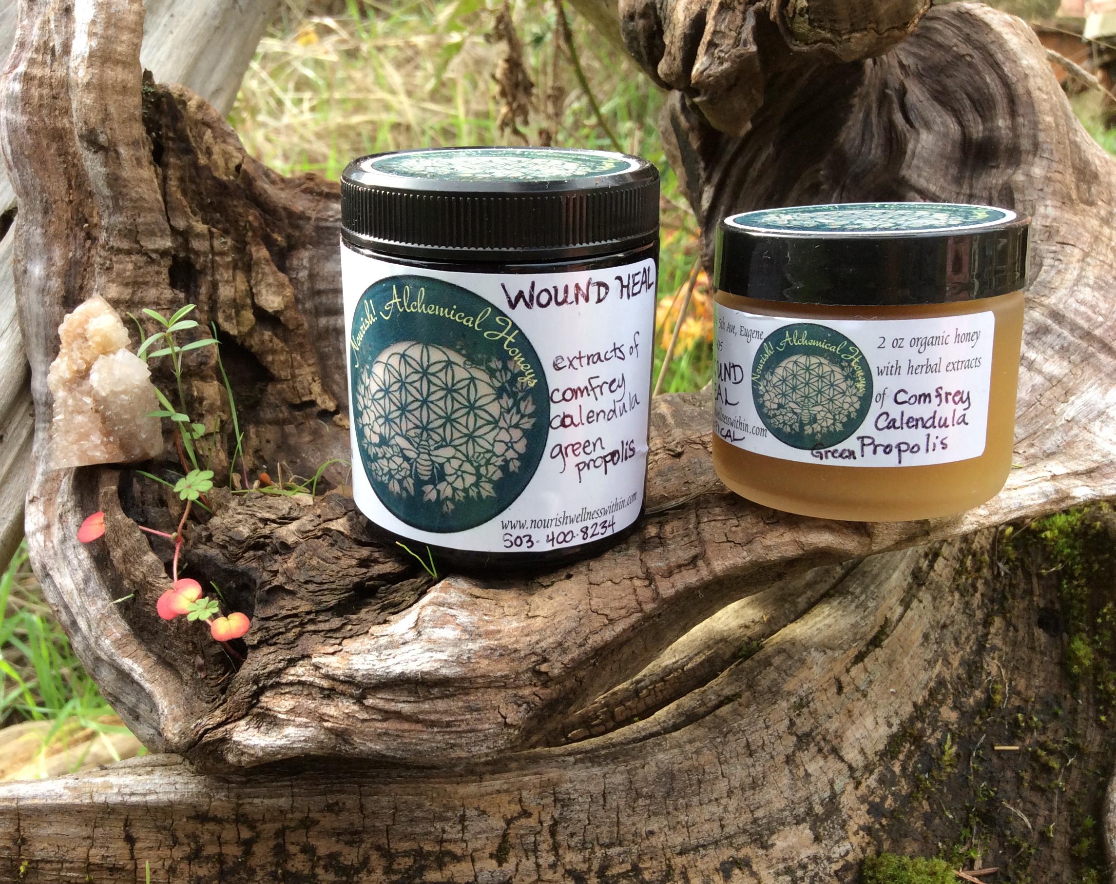 Products by Ala Amrita Label design by Ala Amrita      www.nourishwellnesswithin.com