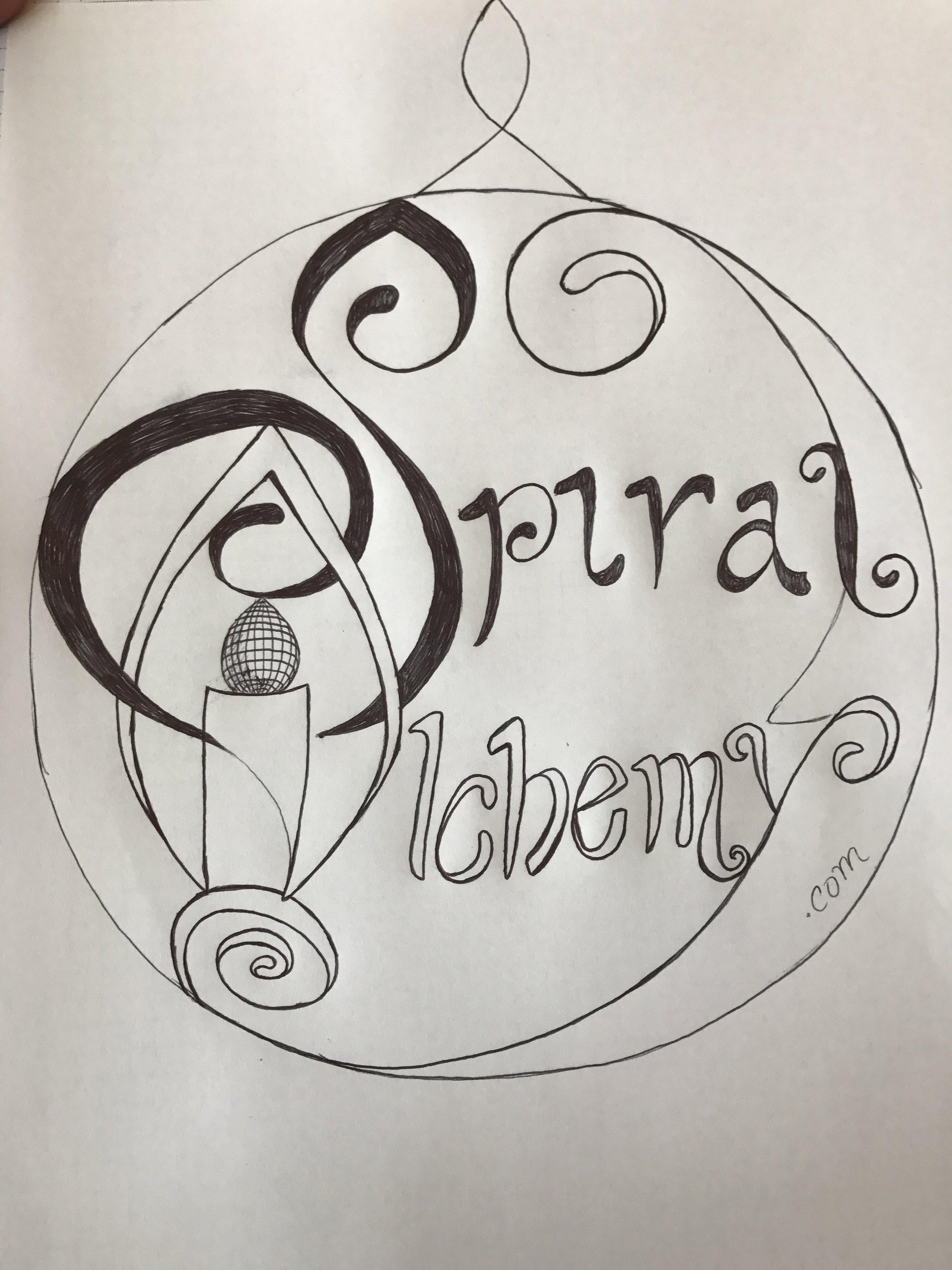 Logo Idea for Spiral Alchemy www.spiralalchemy.com