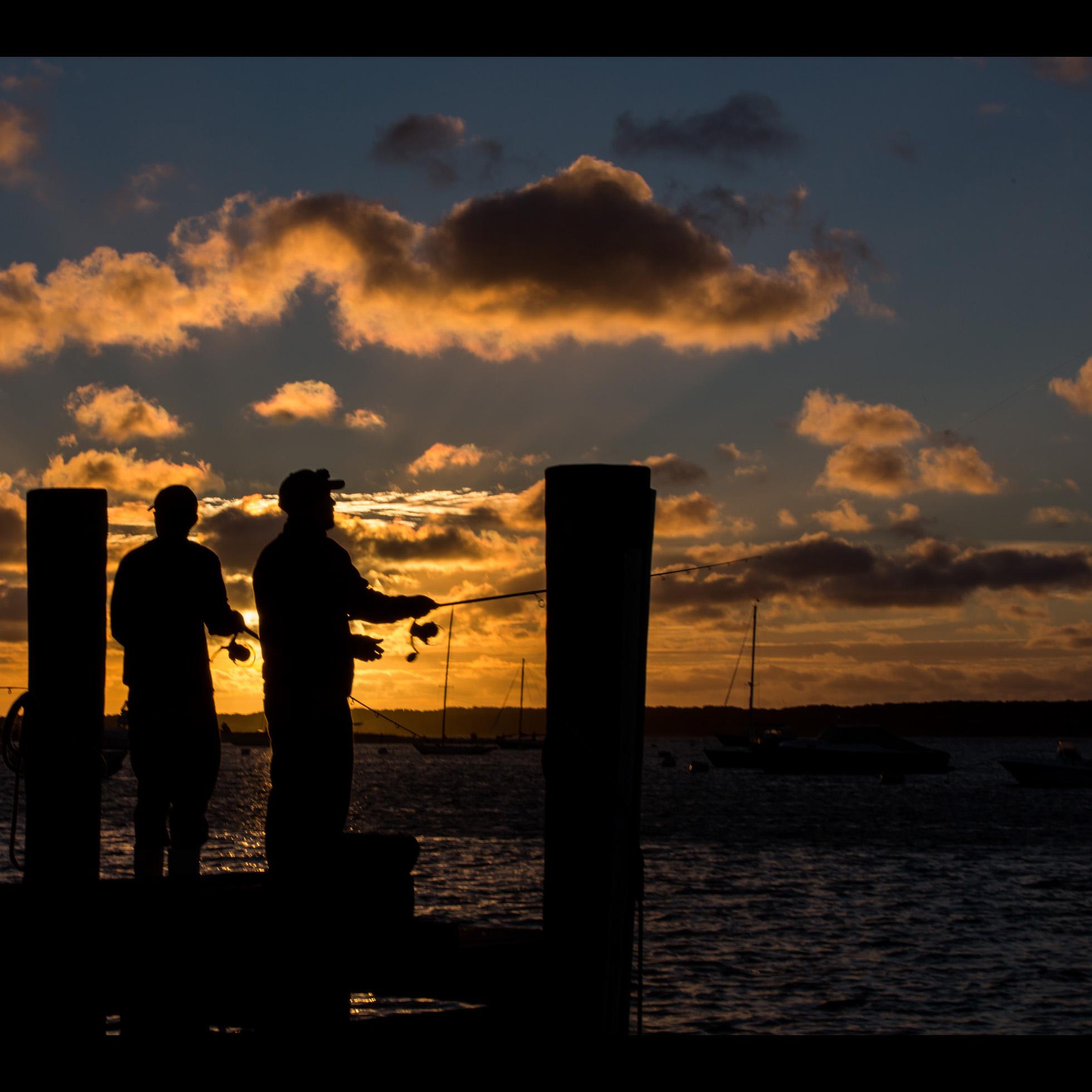 9.23 SUNRISE FISHERMEN