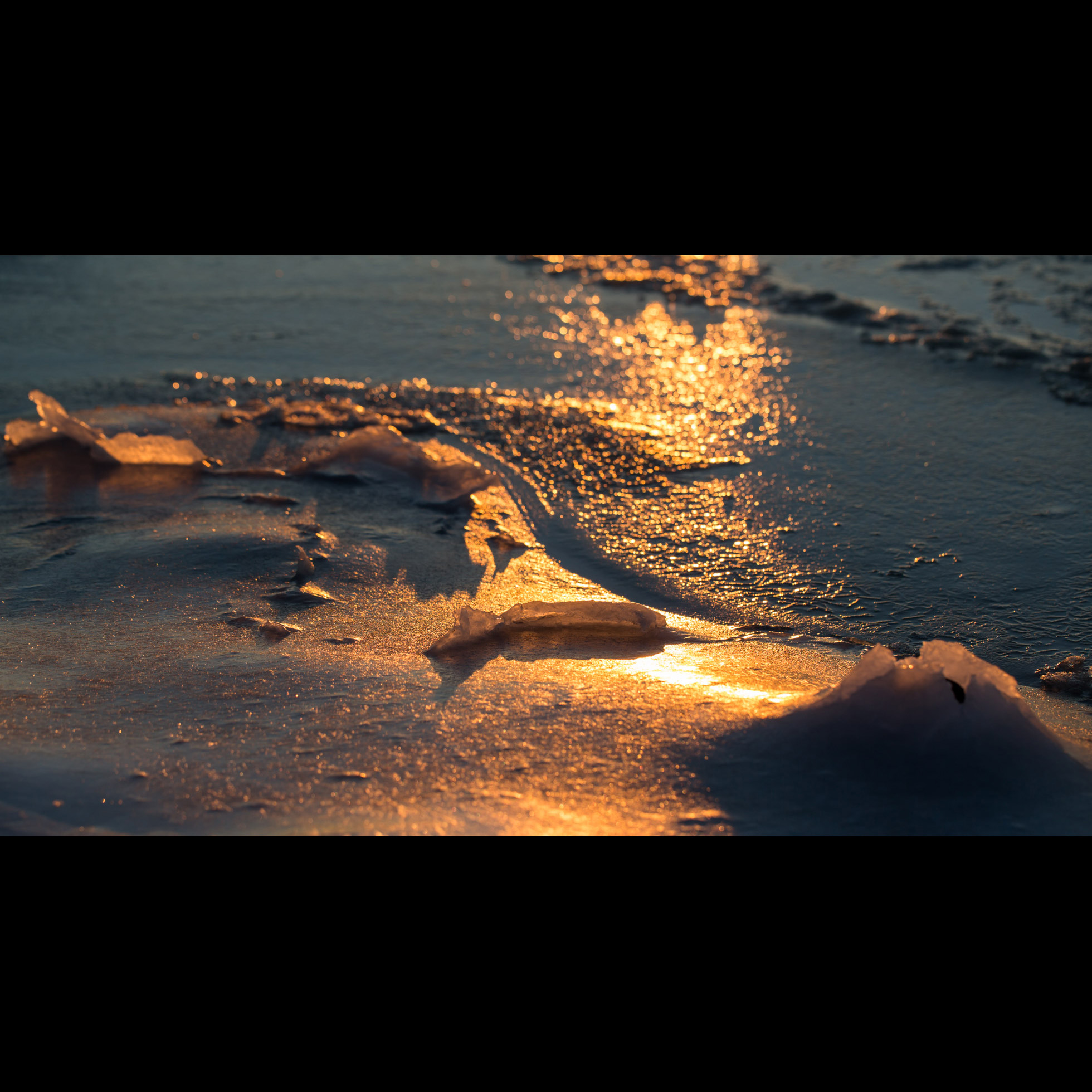 2.14 SUNSET OVER ICE