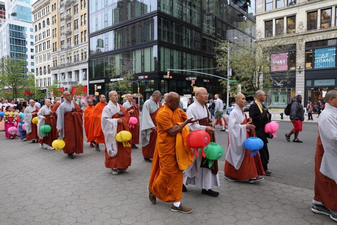 부처님 오신날 봉축 법요식 및 제등행렬