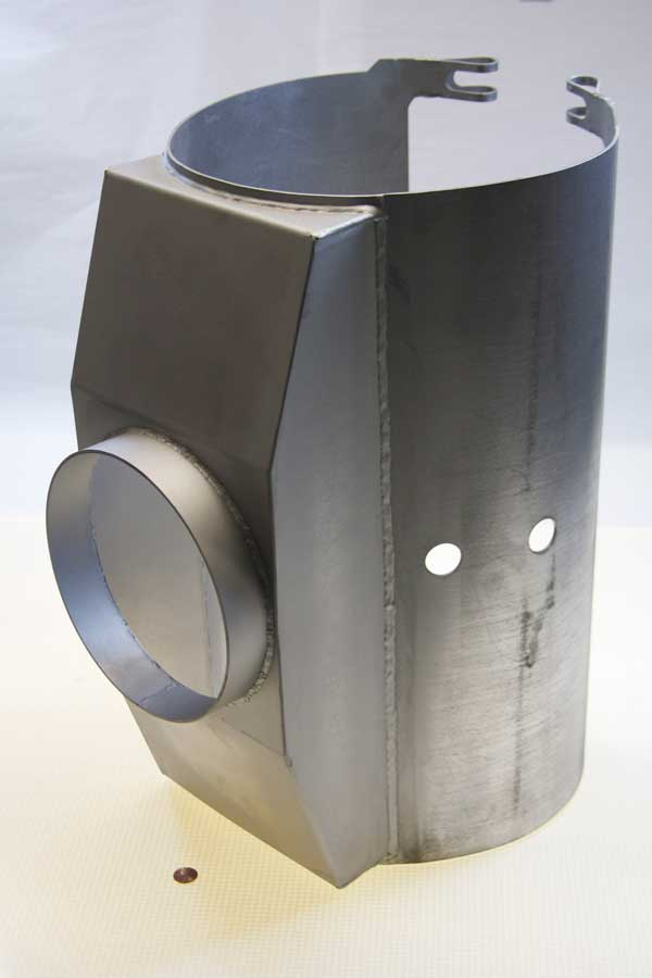 Rolled & Welded Enclosure