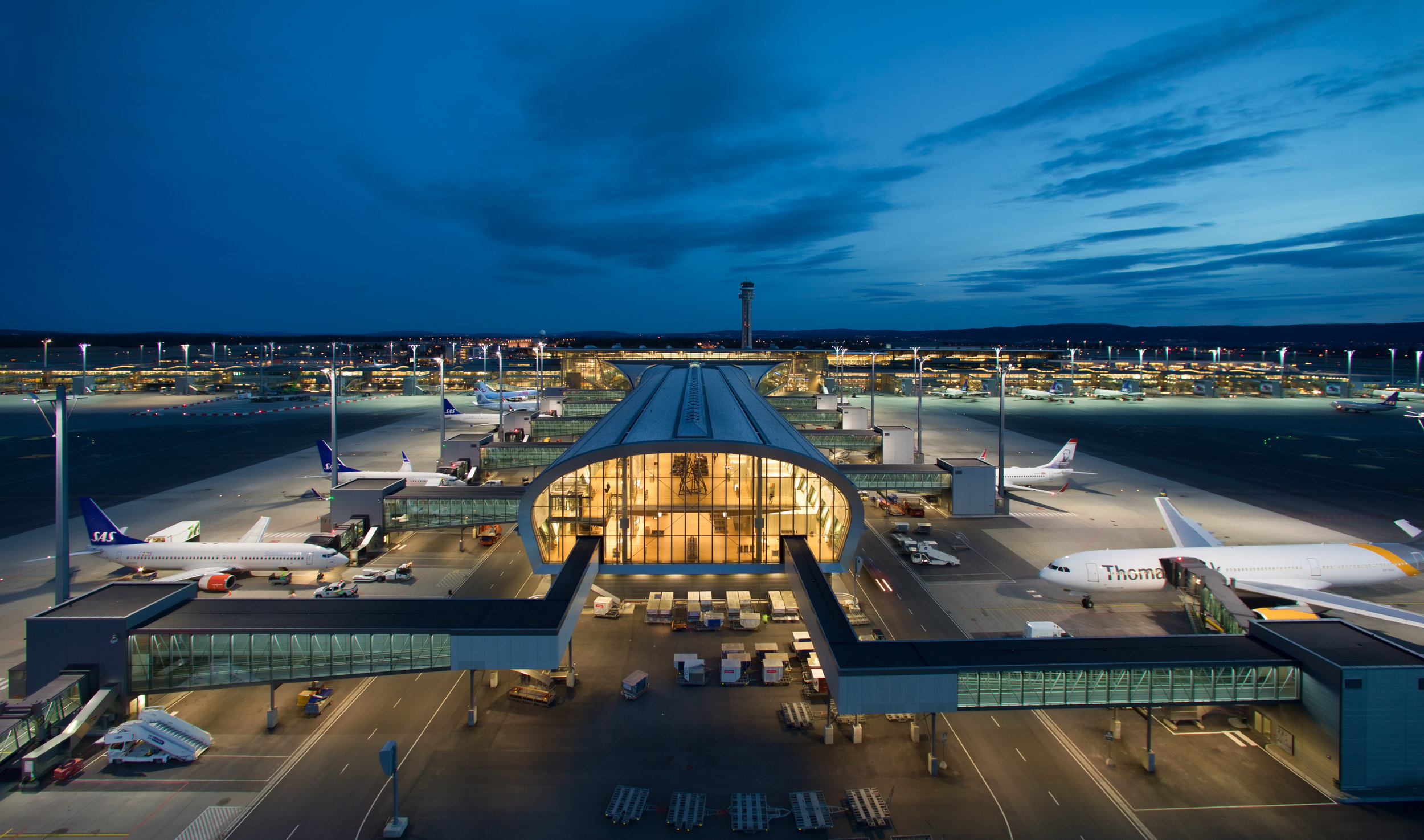 Oslo Airport – an important entry point to Norway and cheap alcohol. Photo: Avinor Oslo lufthavn/Espen Solli
