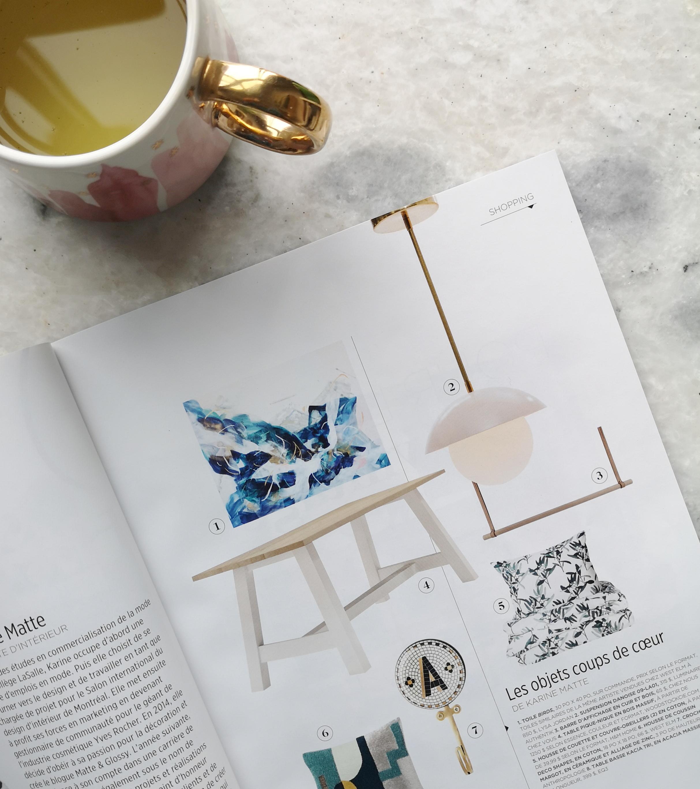 Coup de coeur - Karine Matte pour Maisons de designer