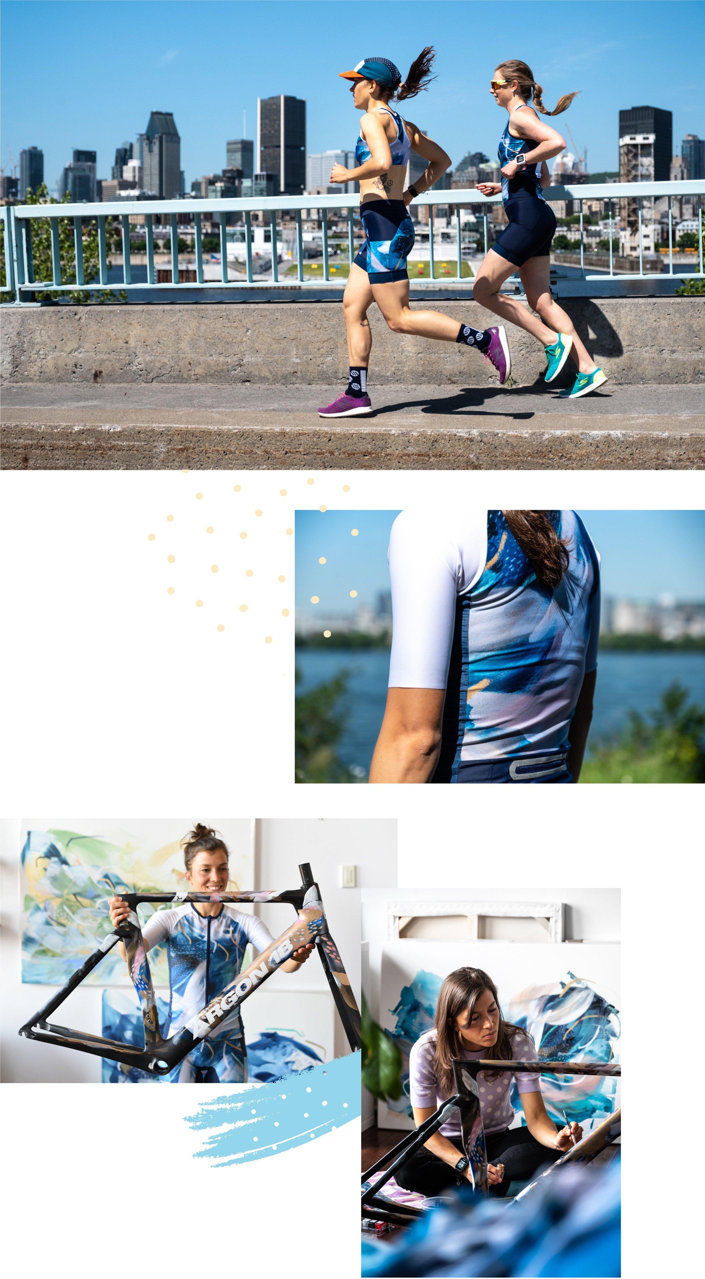 Collaboration with Brava Triathlon & Argon 18