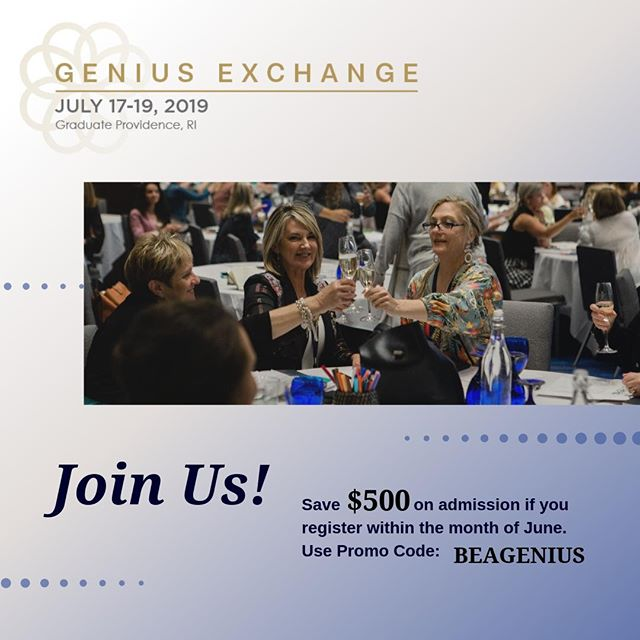 What are the secrets to great business success as an interior designer? If your design firm is making $250,000, a year or more and still don't have the lifestyle of your dreams, then join Gail Doby Coaching & Consulting's Genius Exchange to learn how it's done. ⠀ ⠀ Save $500 on admission if you register within the month of June, just use promo code: BEAGENIUS. Join us on July 17-19 in Rhode Island-- reserve your seat now,⠀ .⠀⠀ .⠀⠀ .⠀⠀ .⠀⠀ .⠀⠀ #geniusexchange #gaildoby #adesignpartnership #interiorinspo #designinspiration #designmarketing #designfirm #homedecor #renovate #homeinteriors #instadesign #instadecor #architecturedesign #architectureinteriors #instahome #hotelstyling #hoteltour #finditstyleit