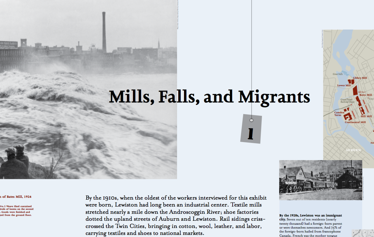 Mills, Falls, and Migrants
