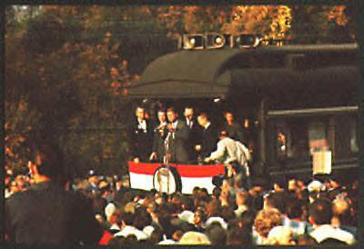 JFK whistlestop, 1960