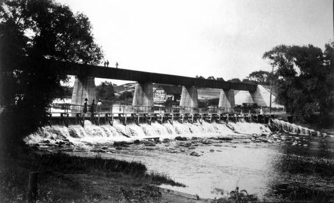 Argo Dam, early 20th century