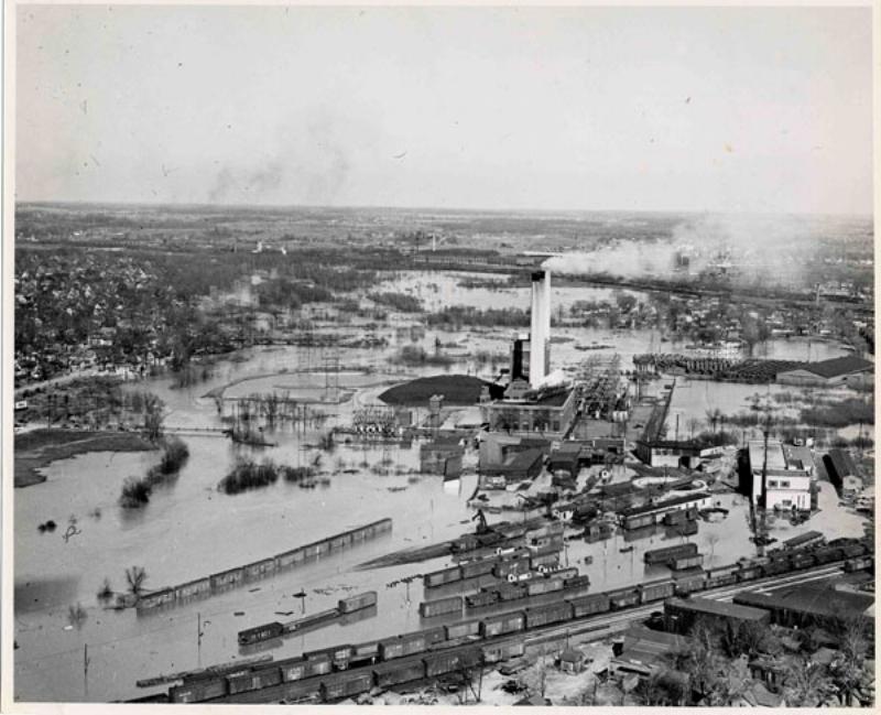The 1947 flood