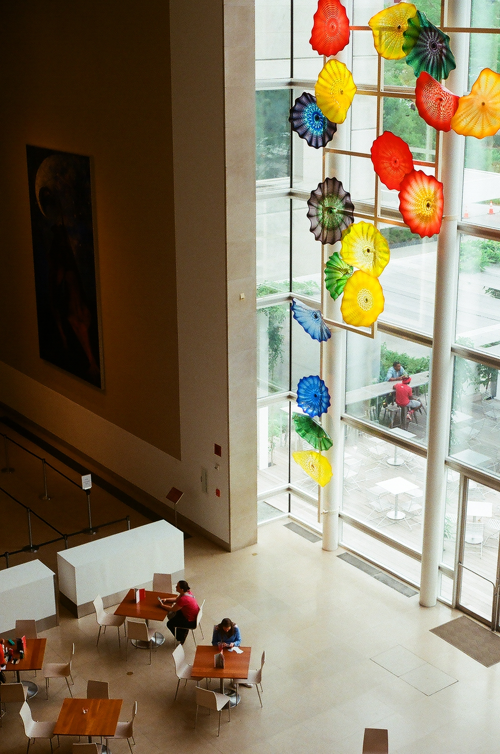 Hart Window - by Dale Chihuly