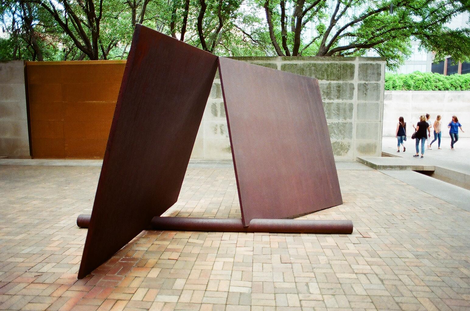 Untitled - by Richard Serra