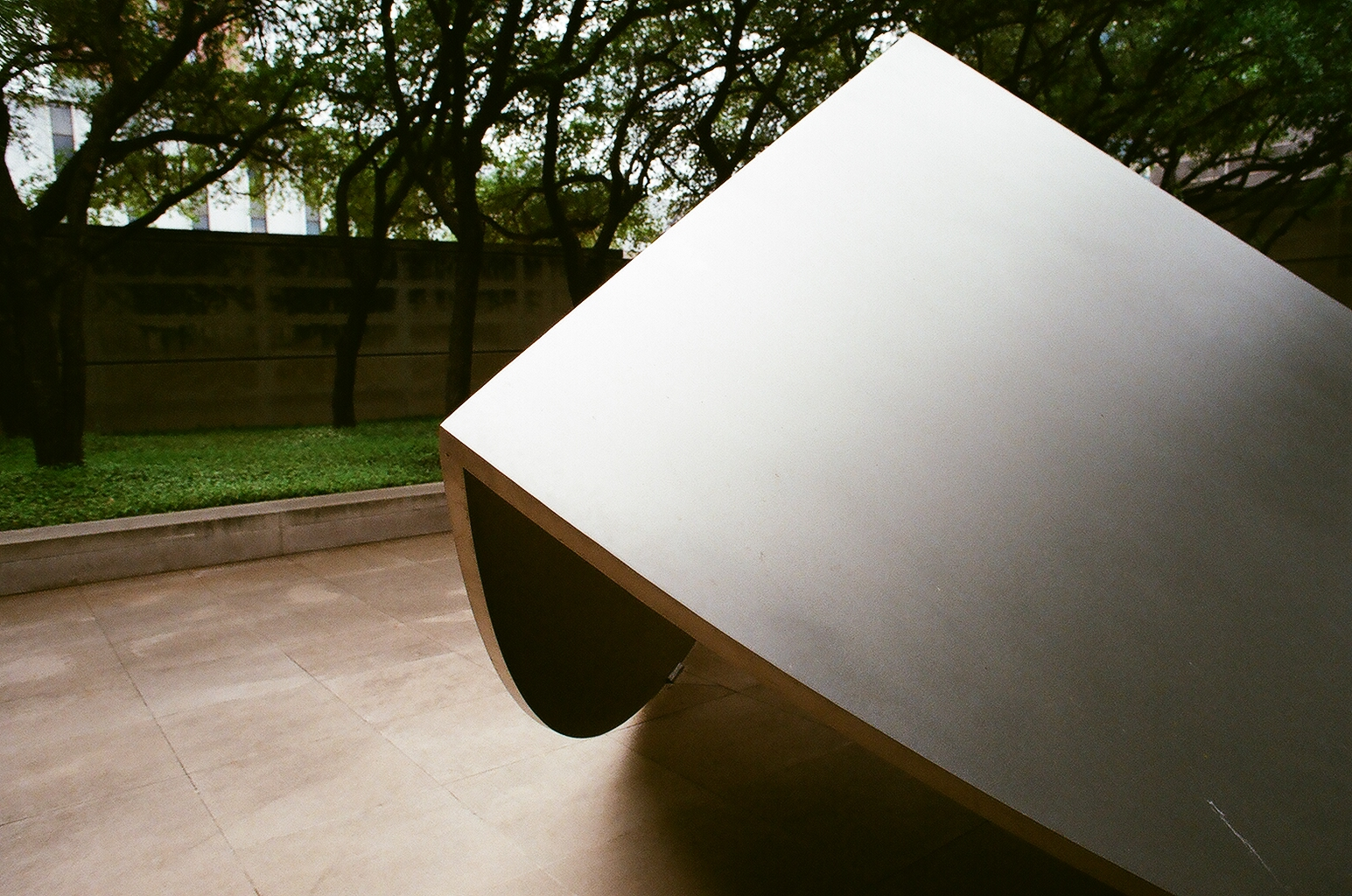 Untitled - by Ellsworth Kelly (1982-1983)  This piece is unquestionably my favorite in the garden!
