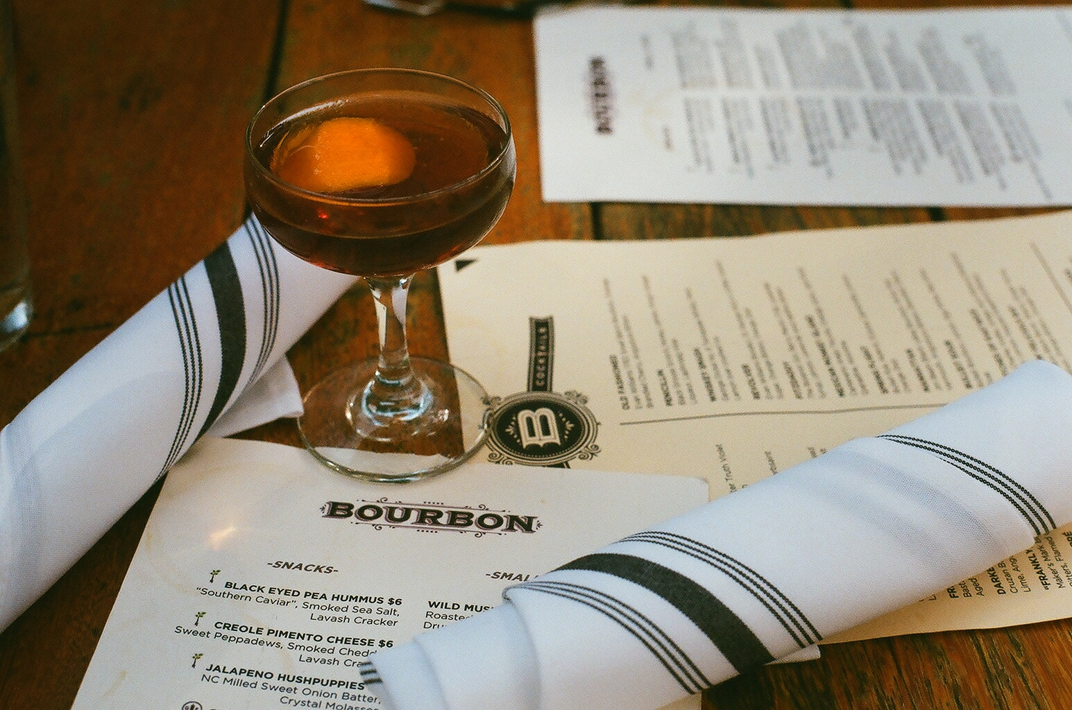 Bourbon Columbia Cocktail