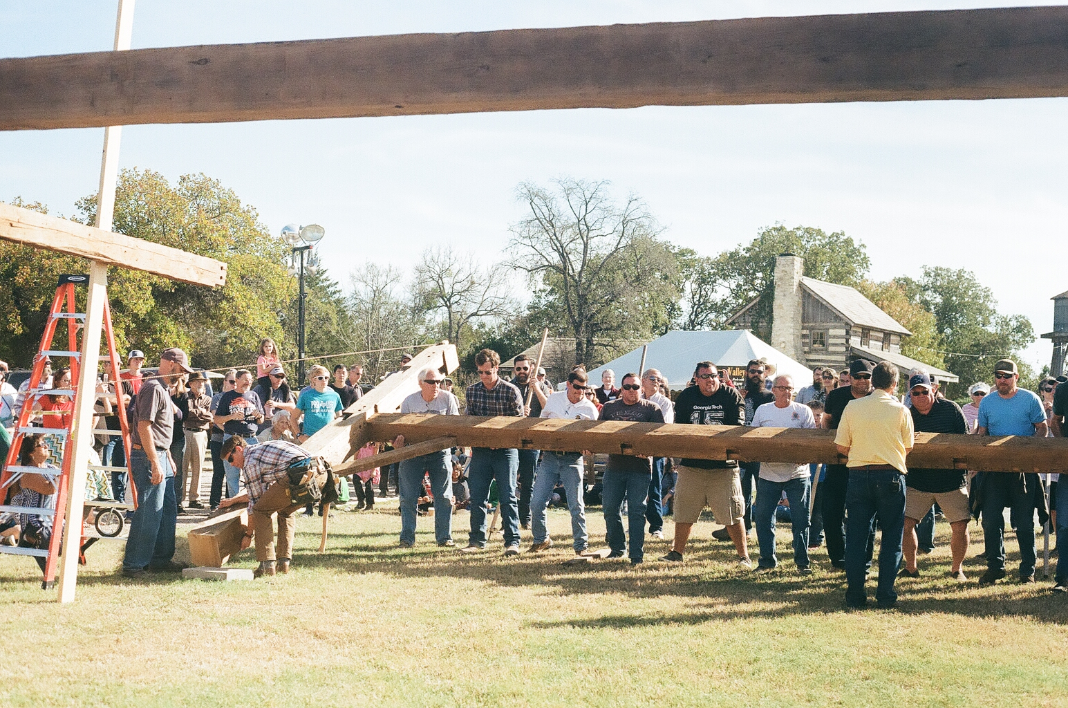 Homestead Fair - Barn Raising