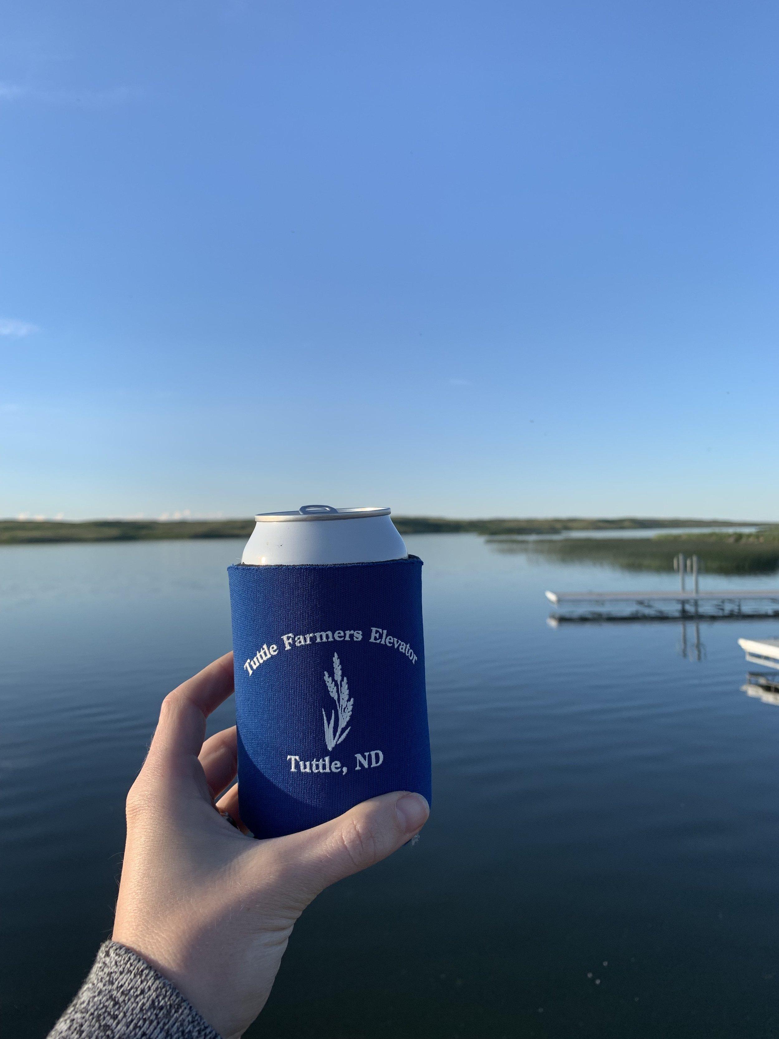 Lake Josephine, outside of Tuttle, North Dakota