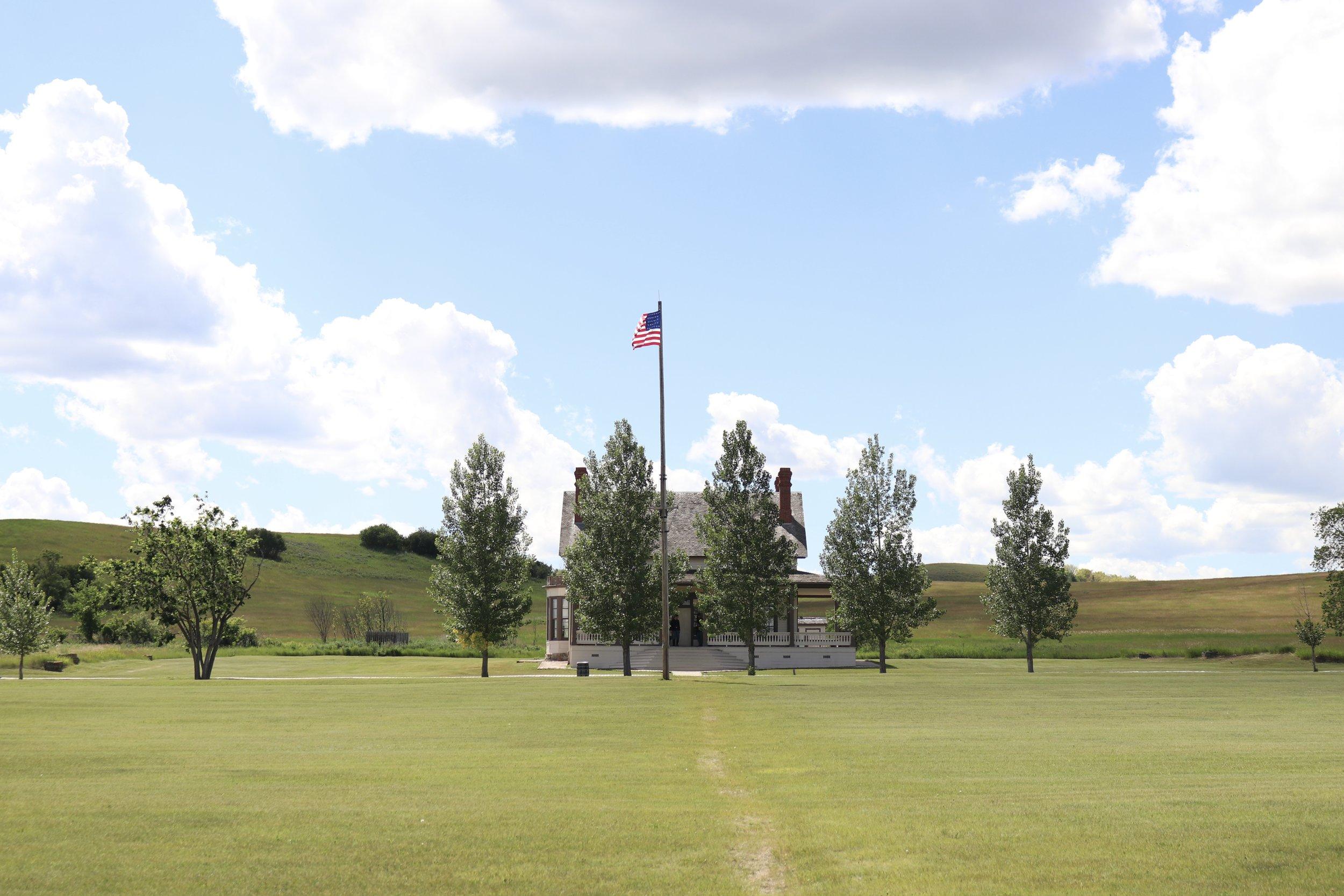 Custer's House at Fort Abraham Lincoln, North Dakota