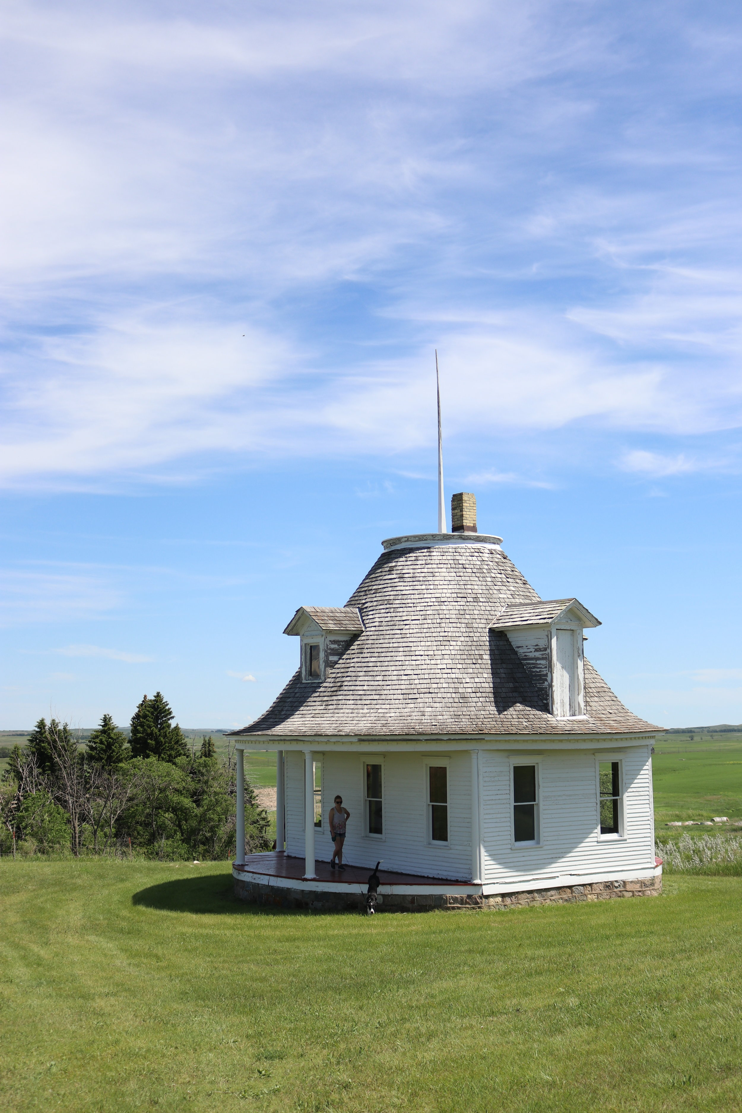 The Hurd Round House, Middle of Nowhere, ND