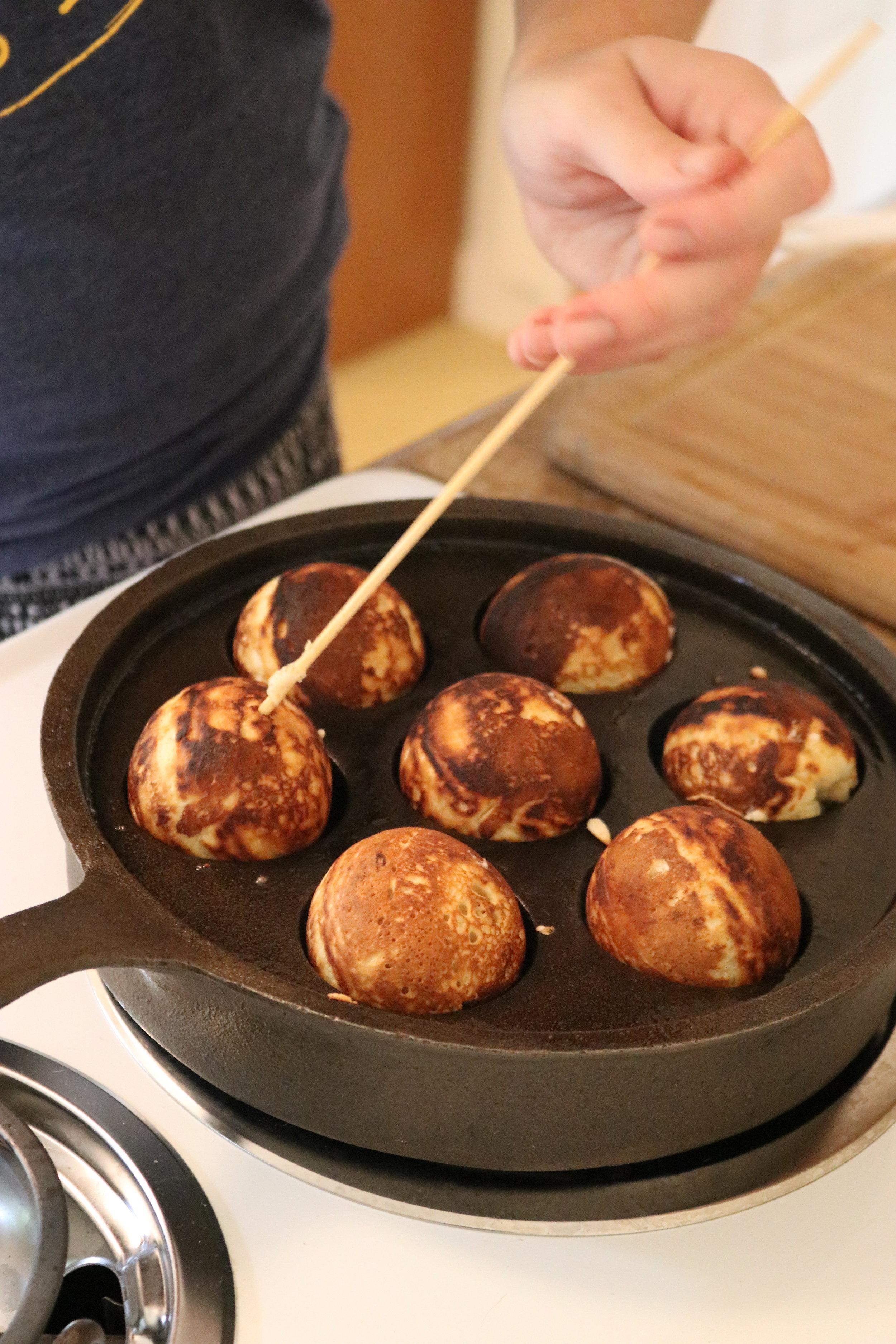 Aebleskiver - little, round, Scandinavian pancakes