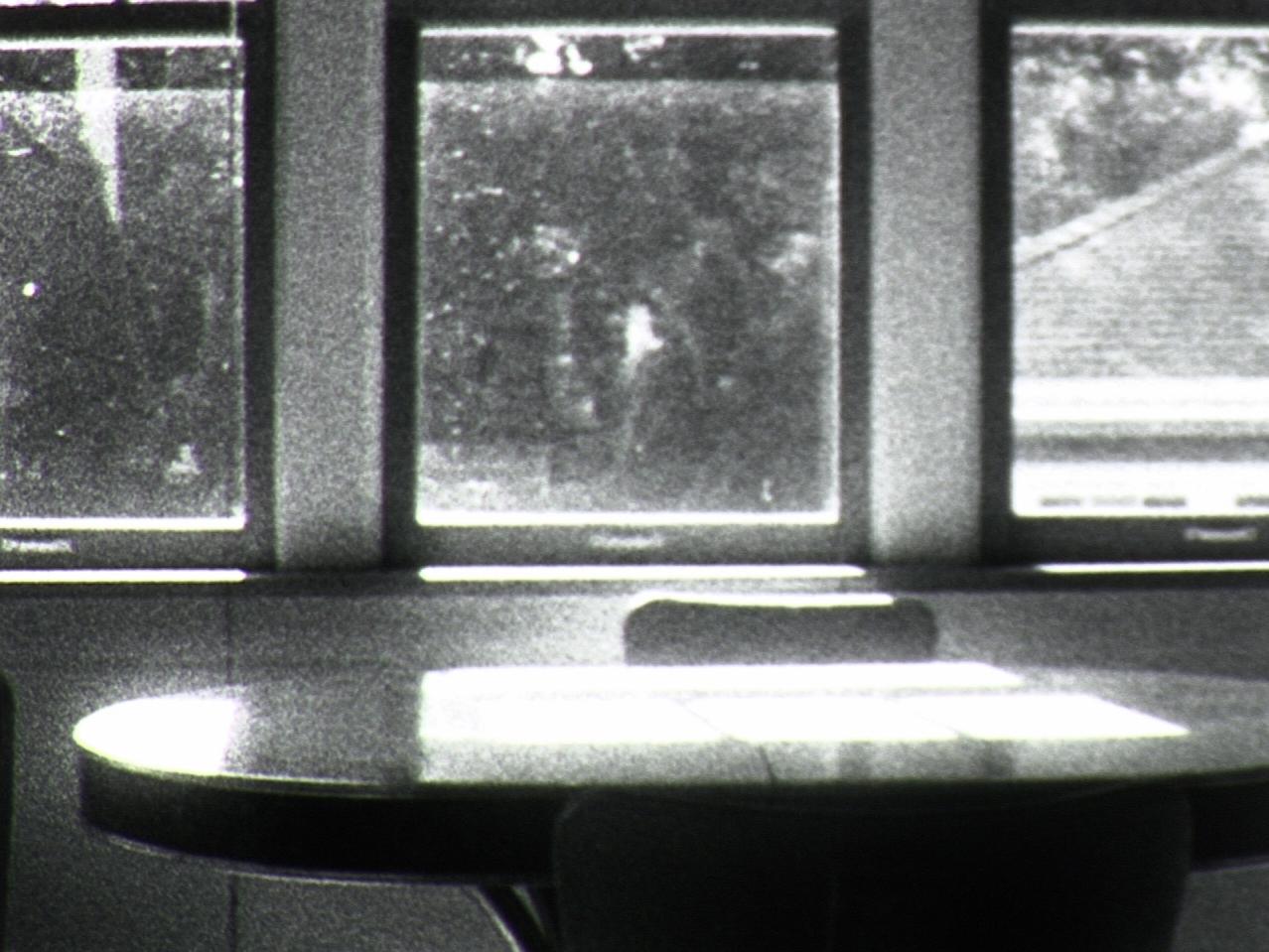 Findings     Kioto Aoki   2017  3 minutes  USA  16mm  b&w   silent  world premiere  A navigation of space via bodies of light. -KA