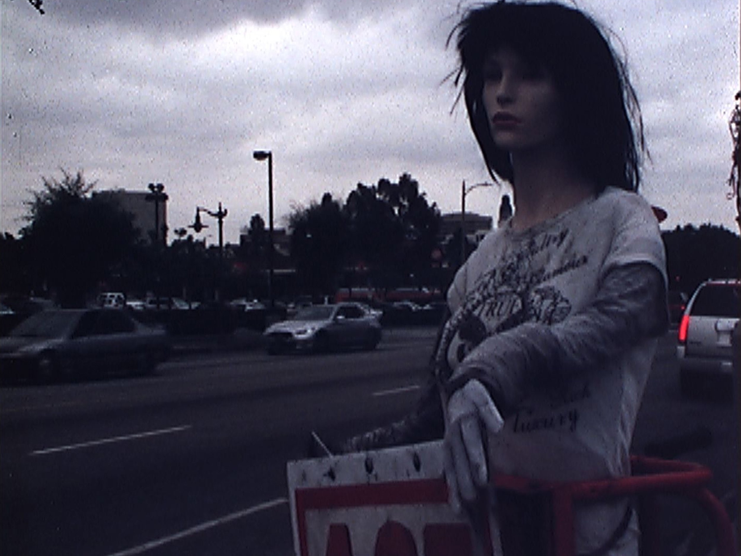 Non-Stop Beautiful Ladies     Alee Peoples   2015 |9 minutes |USA |16mm |color |sound  A Los Angeles street film starring empty signs, radio from passing cars and human sign spinners, some with a pulse and some without. -AP