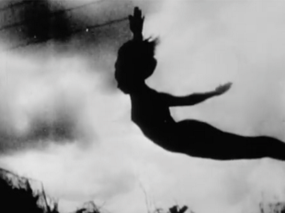 Ikarus      Hans Breder  &  Chuck Hudina   1973 | 2 minutes | USA | 16mm | b&w | silent  A slow-motion dive at 3,000 frames per second. -HB & CH   RIP Hans Breder (October 20, 1935 – June 18, 2017)