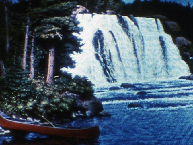 "Sky Blue Water Light Sign     JJ Murphy   1972 | 9 minutes | USA | 16mm | color | sound  "" Sky Blue Water Light Sign  is best seen in total innocence."" -Scott MacDonald"