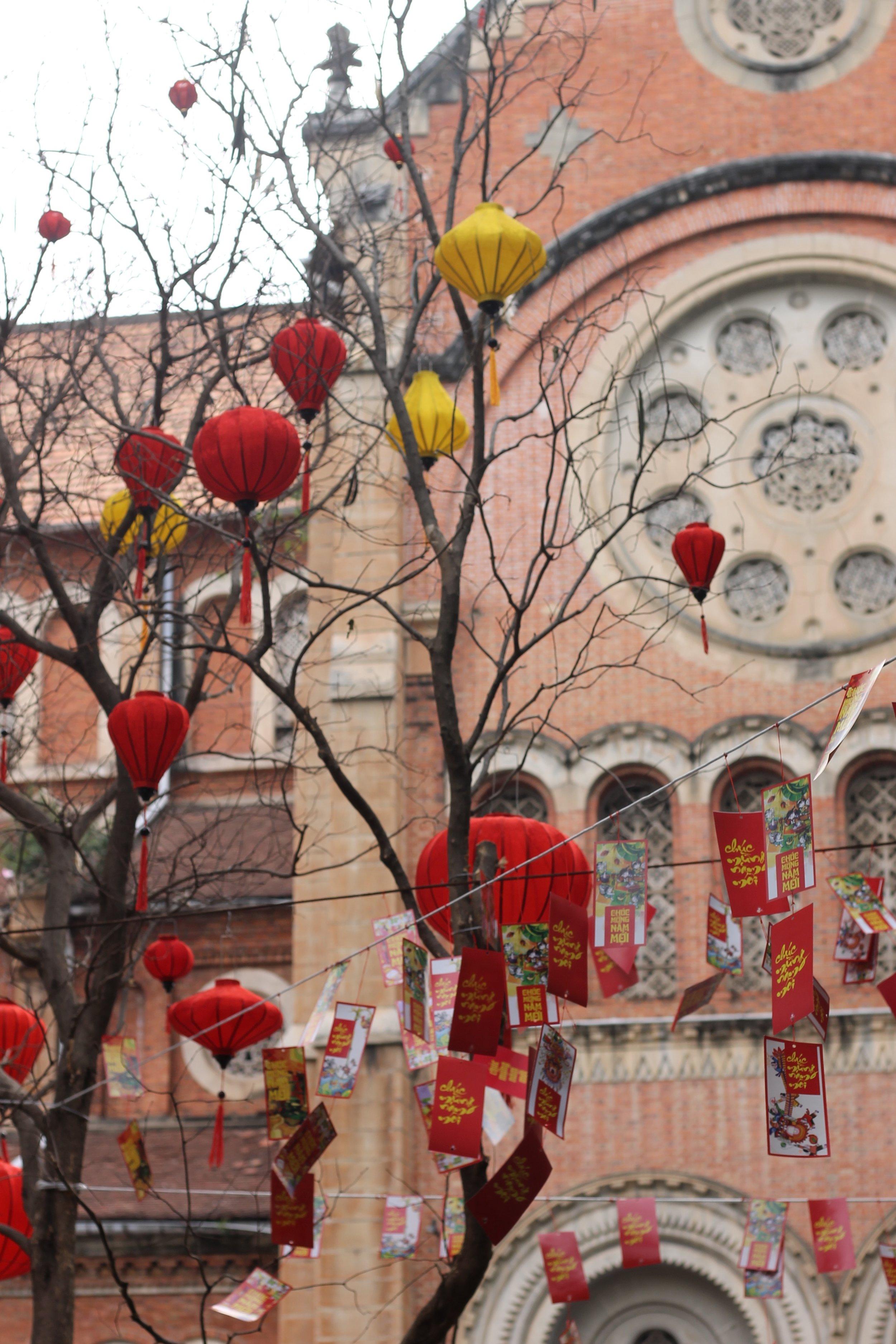 The Lunar New Year in Saigon.