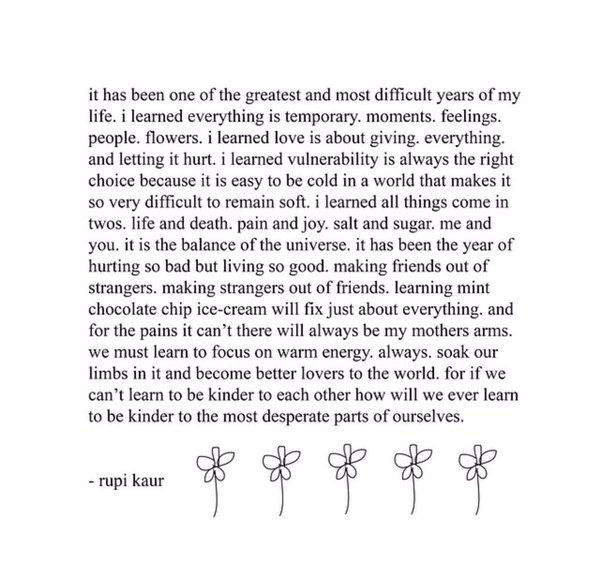 Page 193 of  the sun and her flowers  by Rupi Kaur.