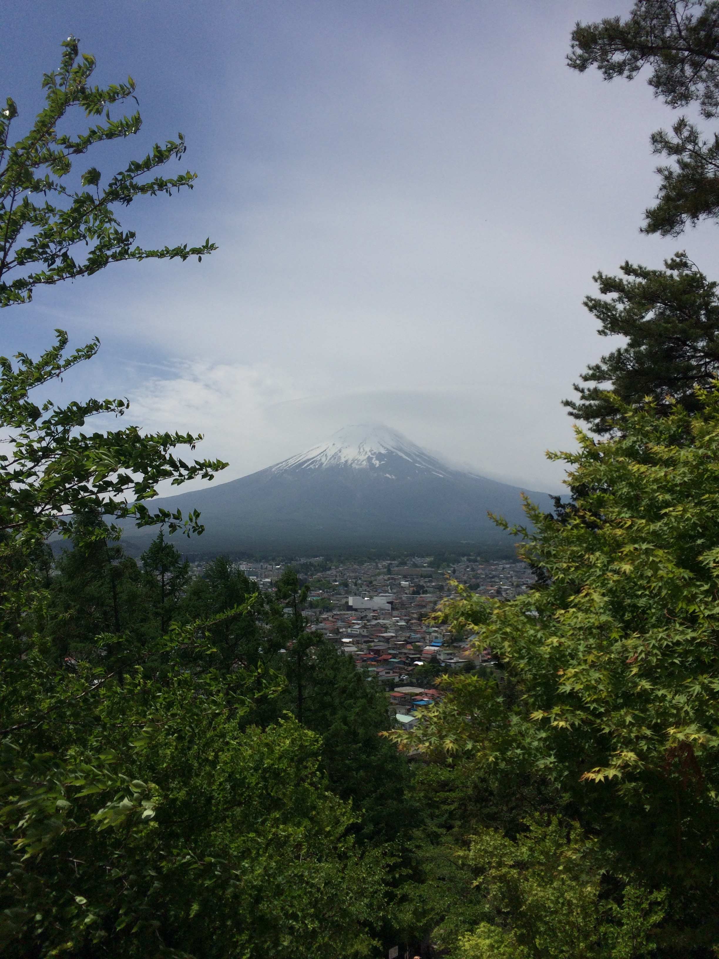 Mount Fuji, Japan's tallest mountain and an active volcano, is a sacred subject of worship and national symbol of beauty.