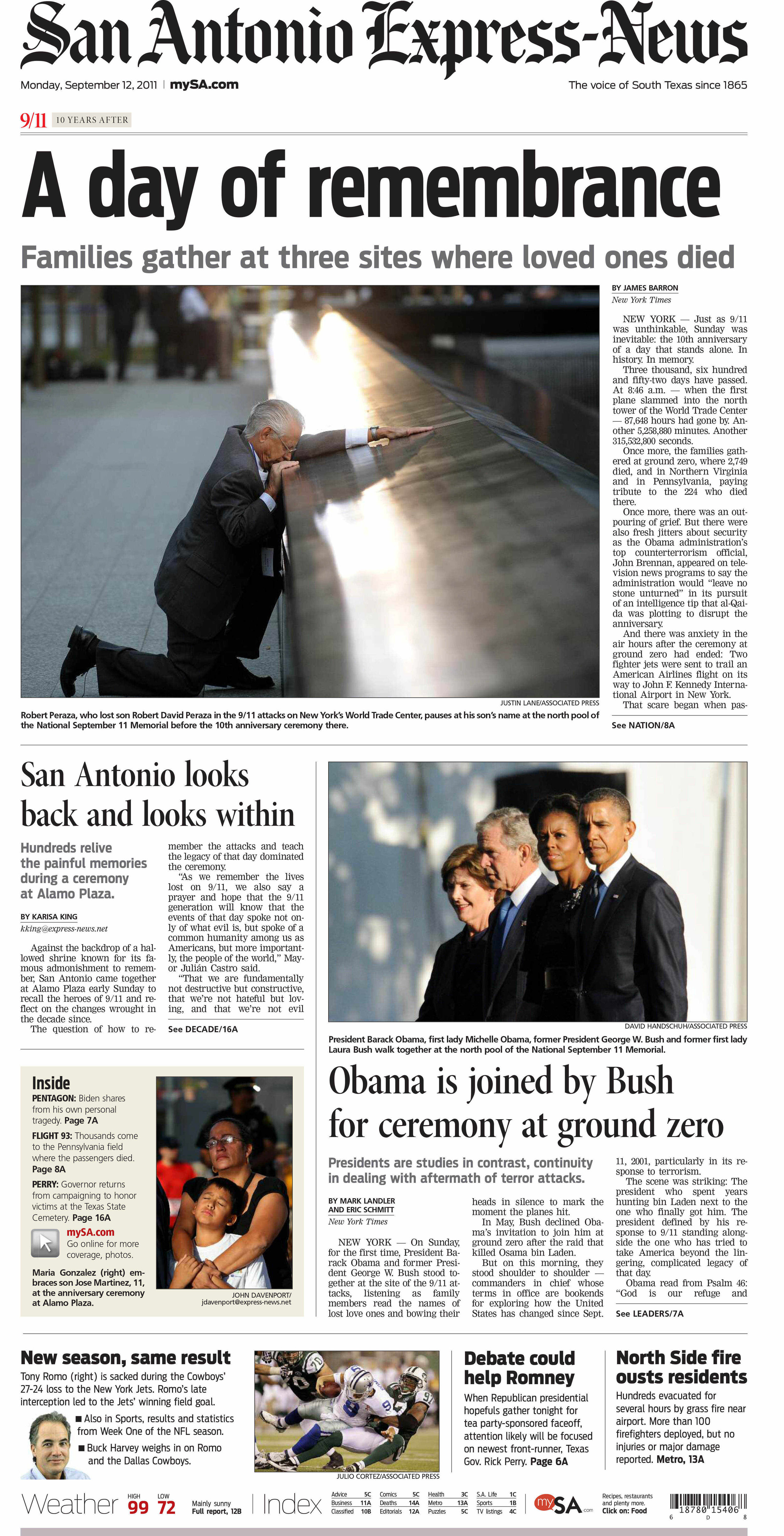San Antonio Express-News.