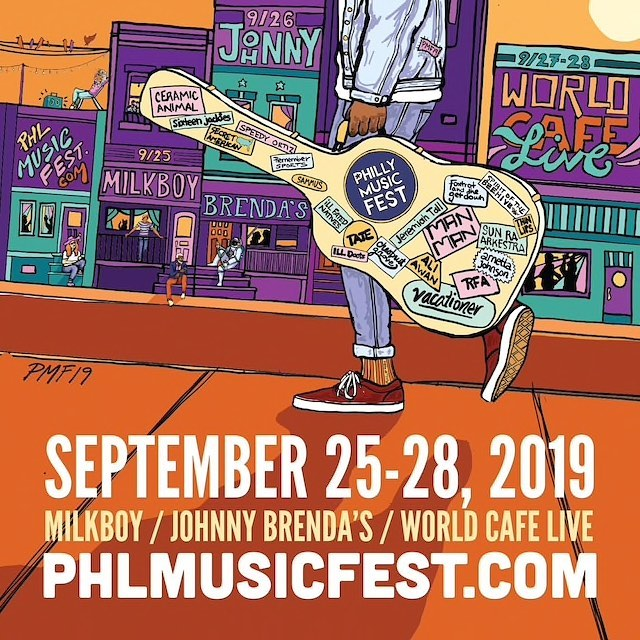 @ceramicanimal is headlining the first night of this year's @phlmusicfest! Grab your tickets NOW before they dry up quick. #ceramicanimal #phlmusicfest
